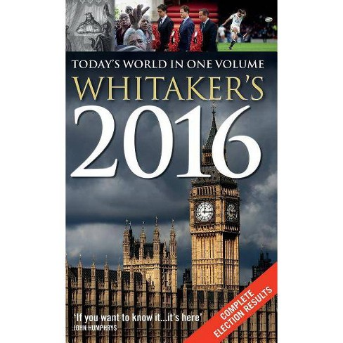 Whitaker's 2016 - 148 Edition (Hardcover) - image 1 of 1