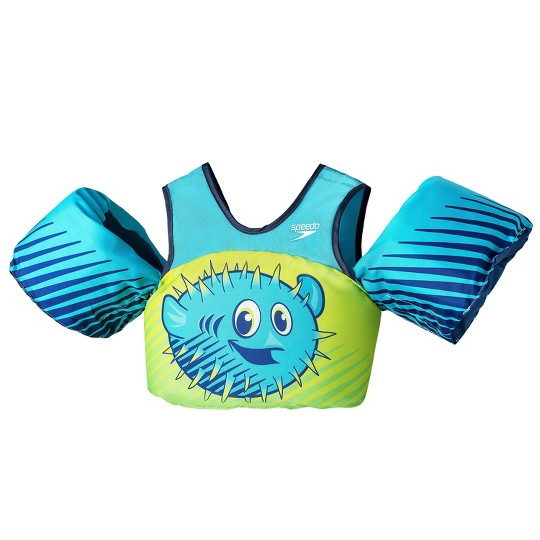 Speedo Splash Jammer Puffer Fish Kids' Life Jacket Vests image number null