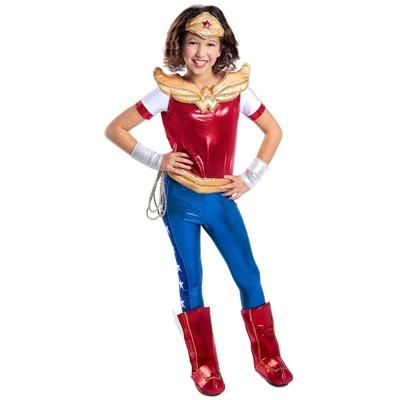 Beautiful DC Comics Super Hero Girls Premium Wonder Woman Halloween Costume    Princess Paradise