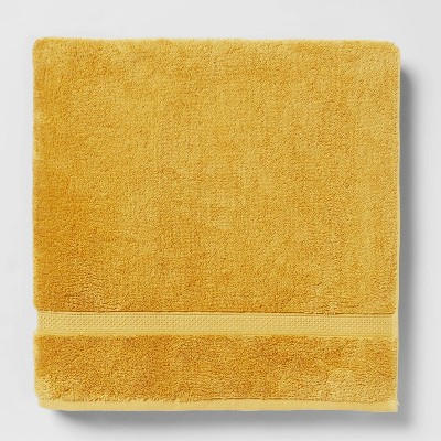 Soft Solid Bath Sheet Fall Yellow - Opalhouse™