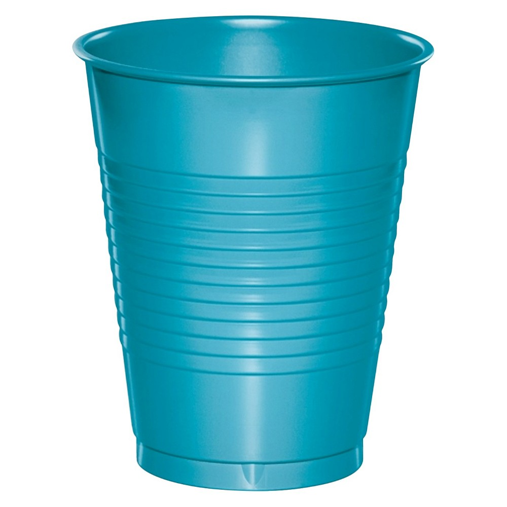 20ct Bermuda Blue Disposable Cups