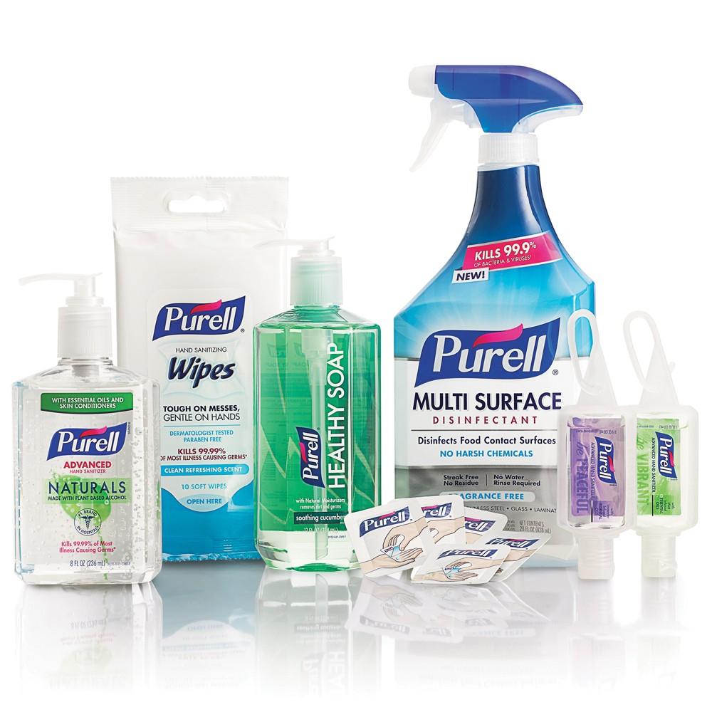 Image of Purell Home Wellness Kit, Hand Sanitizer