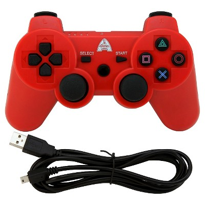 Arsenal Gaming AP3CON4R Bluetooth Controller with Rechargeable - RedPlaytstation 3