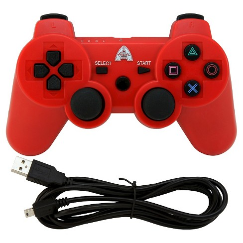 Arsenal Gaming AP3CON4R Bluetooth Controller with Rechargeable - RedPlaytstation 3 - image 1 of 3