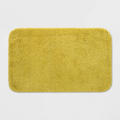 "23""x37"" Perfectly Soft Bath Rug Fall Yellow - Opalhouse™"