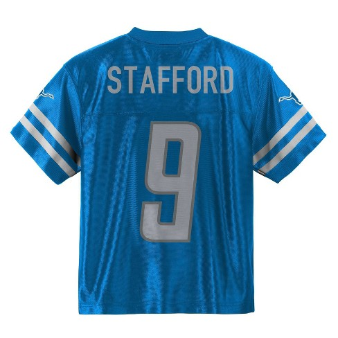 new product 4983d 86ee6 NFL Detroit Lions Toddler Boys' Stafford Matthew Jersey - 3T