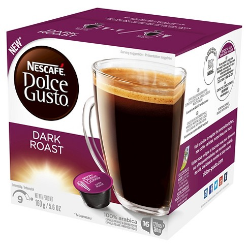 Nescafe® Dolce Gusto Dark Roast Coffee - Single Serve Pods - 16ct - image 1 of 4