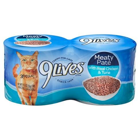 9Lives Wet Cat Food Chicken Tuna Dinner
