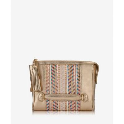 GiGi New York Gold Dana Crossbody Bag