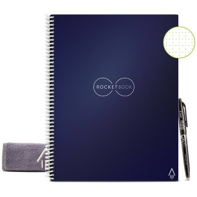 """Core Smart Spiral Reusable Notebook Dot-Grid 32 pages 8.5""""x11"""" - Rocketbook"""