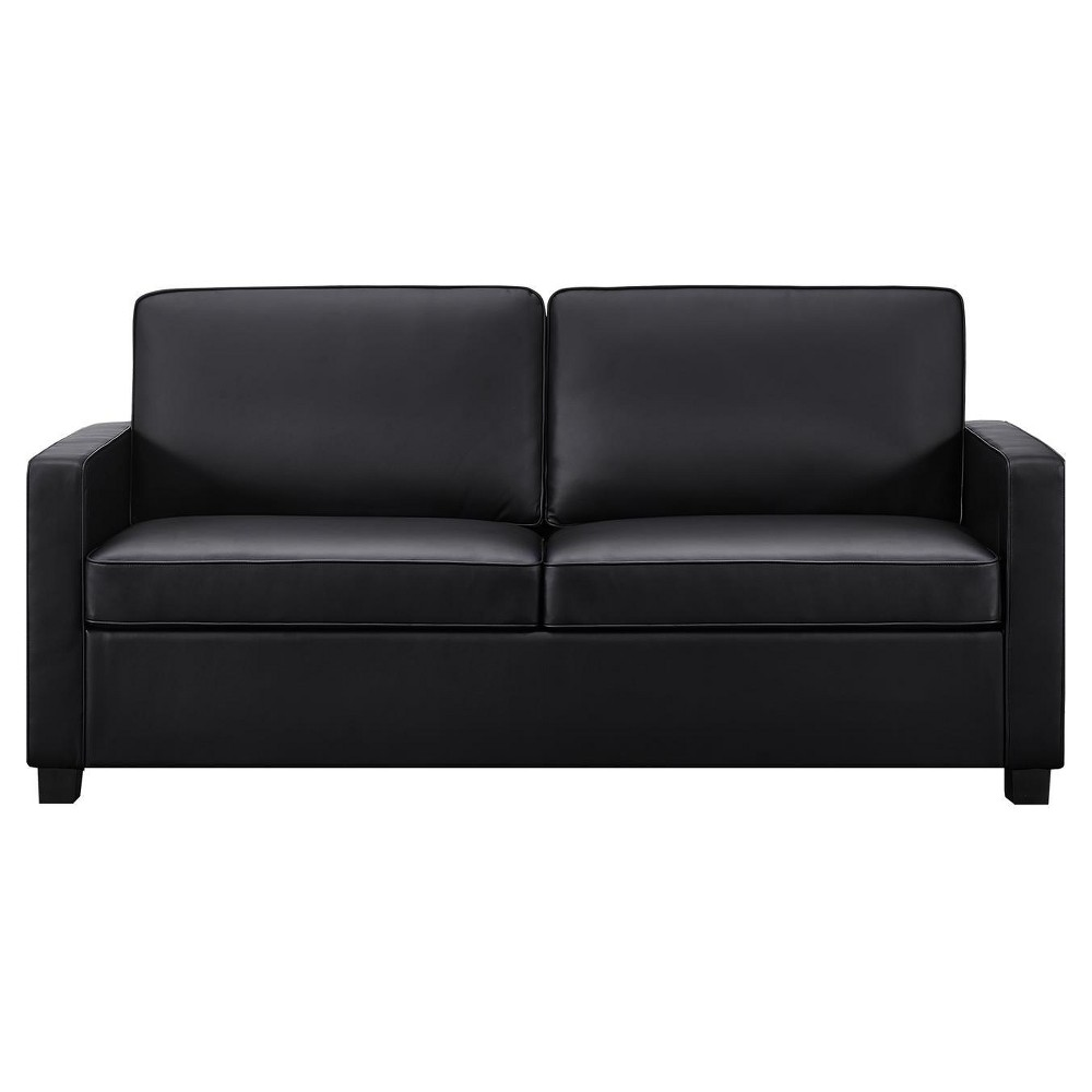 Image of Casey Sleeper Sofa - Queen - Black - Dorel Home Products