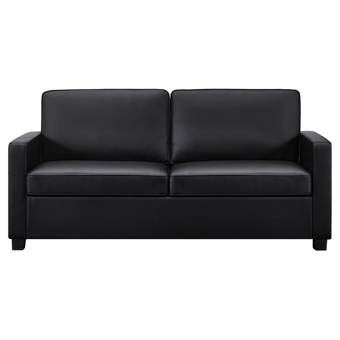 Casey Sleeper Sofa - Queen - Black - Dorel Home Products - image 1 of 11