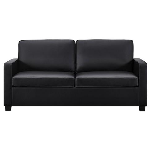 Casey Sleeper Sofa Queen Black Dorel Home Products