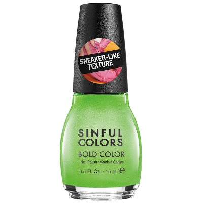 Sinful Colors Sporty Brights Nail Polish - 0.5 fl oz