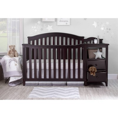 Sorelle Berkley Crib & Changer Standard Full-Sized Crib Espresso