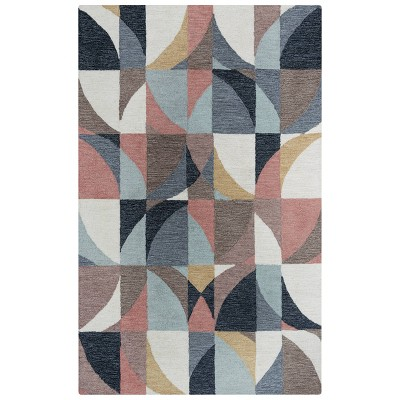 Midland Geometric Wool Area Rug - Rizzy Home