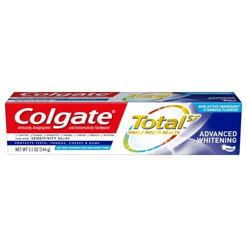 Colgate Total Advanced Whitening Paste Toothpaste - 5.1oz - image 1 of 5