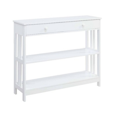 Mission 1 Drawer Console Table - Johar Furniture