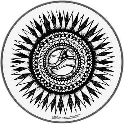 "Remo ArtBEAT Aric Improta New Sun Artist Collection Drum Head, 10"""