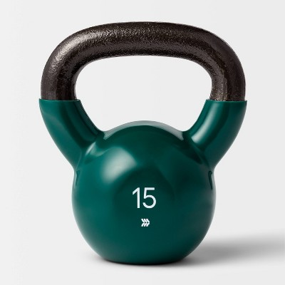 Kettlebell 15lb Green - All In Motion™