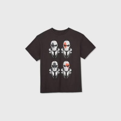 Boys' Fortnite Short Sleeve Graphic T-Shirt - Black