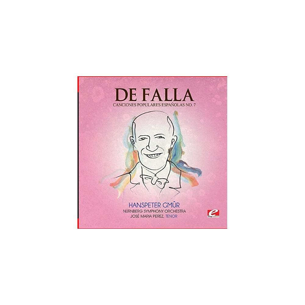 De Falla - Seven Canciones Populares Espanolas 7 Polo (CD)