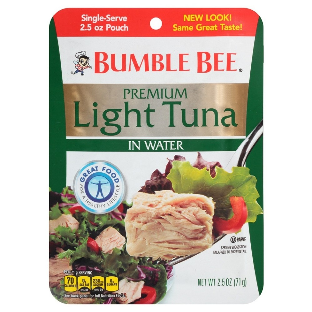 Bumble Bee Light Tuna Pouch 2.5 oz