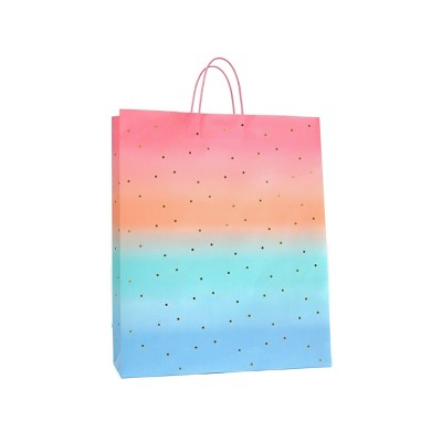 Extra Large Sunset Gift Bag with Foil Ombre - Spritz™