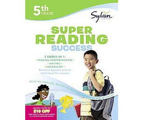 5th Grade Super Reading Success (Workbook) (Paperback) - image 1 of 1