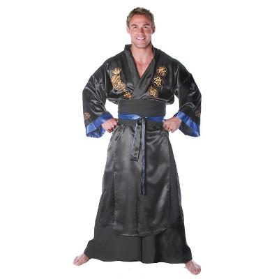 Men's Samurai Black Costume
