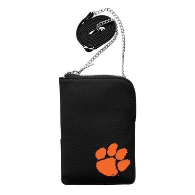 NCAA Clemson Tigers Pebble Smart Purse