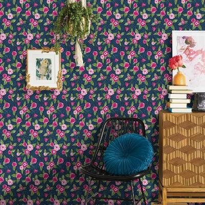 Marker Floral Coordinate Peel & Stick Wallpaper - Opalhouse™