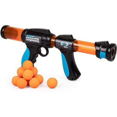 Hog Wild Atomic Power Popper Toy, Shoots Foam Balls - 12 Balls