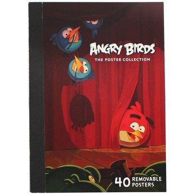 Nerd Block Angry Birds Poster Collection: 40 Removable Posters