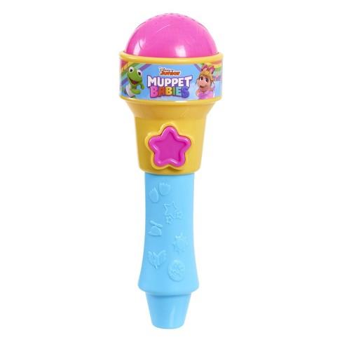 Disney Muppet Babies Rock 'N Sing Microphone - Purple - image 1 of 1