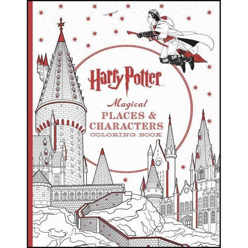 Harry Potter Magical Places & Characters Coloring Book (Paperback) by Scholastic - image 1 of 1