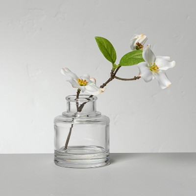 Small Faux White Dogwood Flower Arrangement - Hearth & Hand™ with Magnolia