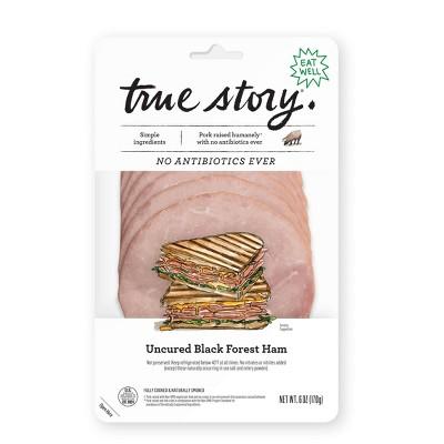 True Story Uncured Black Forest Ham - 6oz