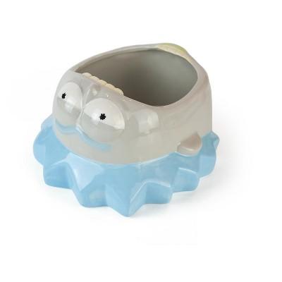 Beeline Creative Geeki Tikis Rick and Morty Ceramic Snack Bowl | Rick | Holds 36 Ounces