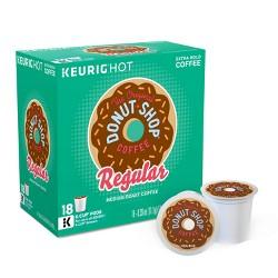 The Original Donut Shop Regular Medium Roast Coffee - Keurig K-Cup Pods - 18ct