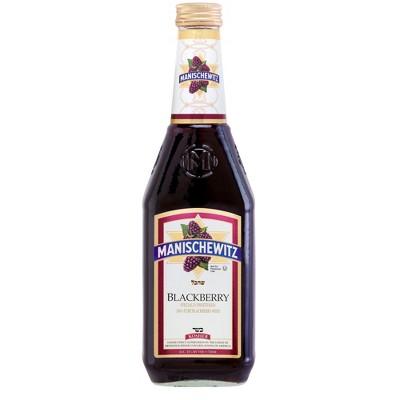 Manischewitz Blackberry Fruit Wine - 750ml Bottle