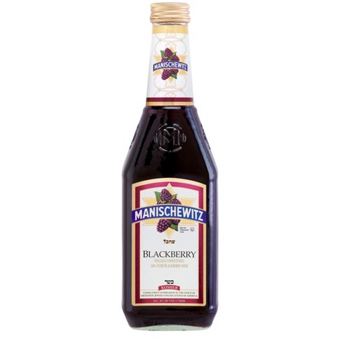 Manischewitz Blackberry Fruit Wine - 750ml Bottle - image 1 of 1