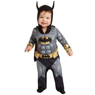 Baby DC Comics Batman Halloween Costume Bodysuit