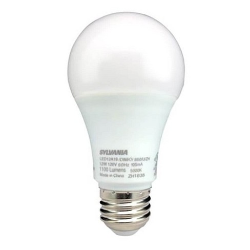 Sylvania A19 LED 75W Equivalent E26 Frosted Finish Cool White 5000K Light Bulb - image 1 of 1