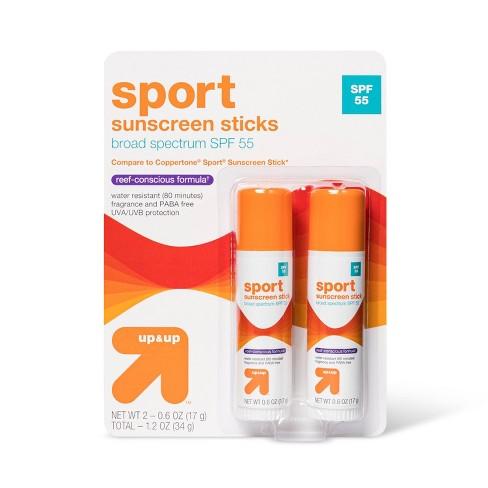 Sport Sunscreen Sticks - SPF 55 - 1.2oz - Up&Up™ - image 1 of 2