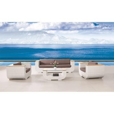 Capri 4pc Patio Set with Table - Infinity