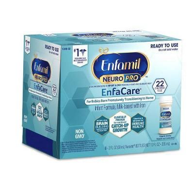 Enfamil EnfaCare Nursettes Ready to Use Formula - 6ct/2 fl oz Each