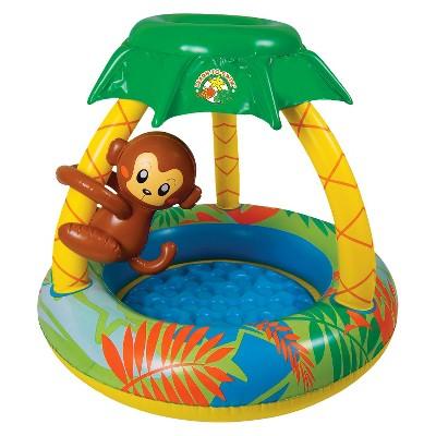 Poolmaster Yellow Go Bananas Monkey Pool