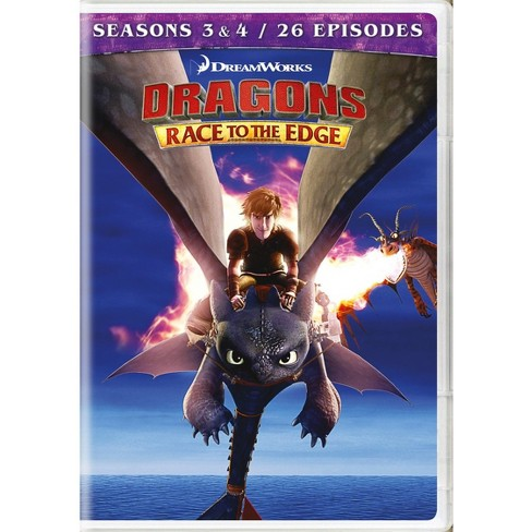 Dragons: Race to the Edge Seasons 3&4 (DVD) - image 1 of 1