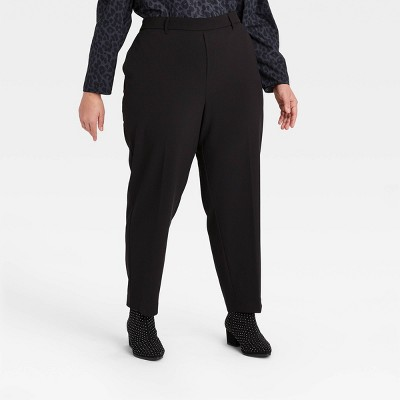 Women's High-Rise Slim Ankle Pants - A New Day™